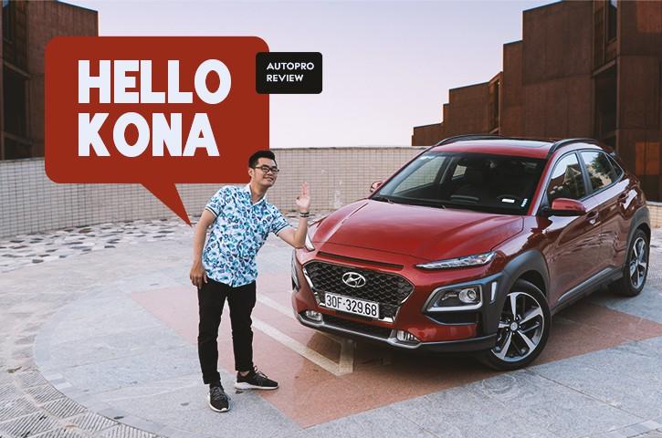 Đánh giá Hyundai Kona 1.6L Turbo