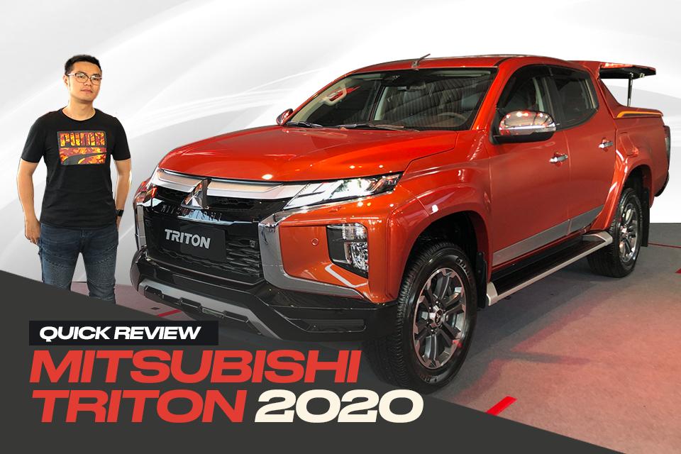 Đánh giá nhanh Mitsubishi Triton 2020