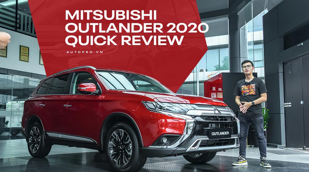 Đánh giá nhanh Mitsubishi Outlander 2020